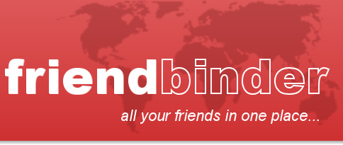 friendbinder.com - all your friends in one place